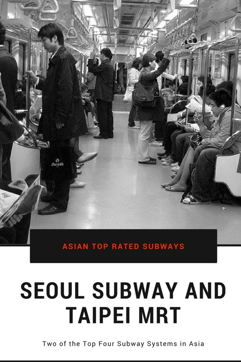 Why Seoul Metro and Taipei MRT Are Two of the Top Subway Systems in Asia