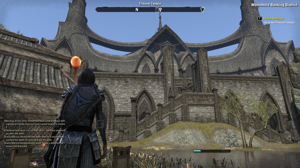 The Elder Scrolls Online Walkthrough - Mournhold: A Favor Returned, The Mournhold Underground