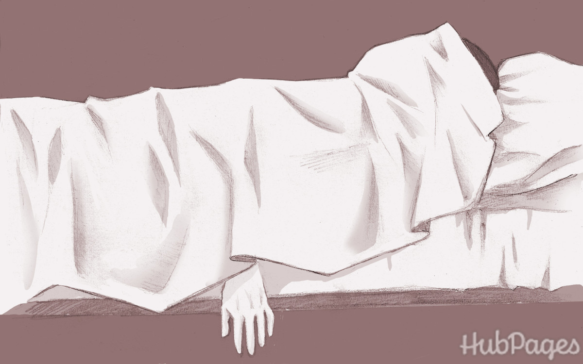 The line between sleep and death is sometimes questionable.