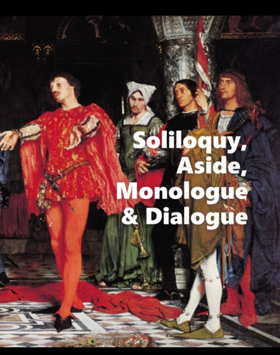 Soliloquy, Aside, Monologue, and Dialogue: How to Know Them When You See Them