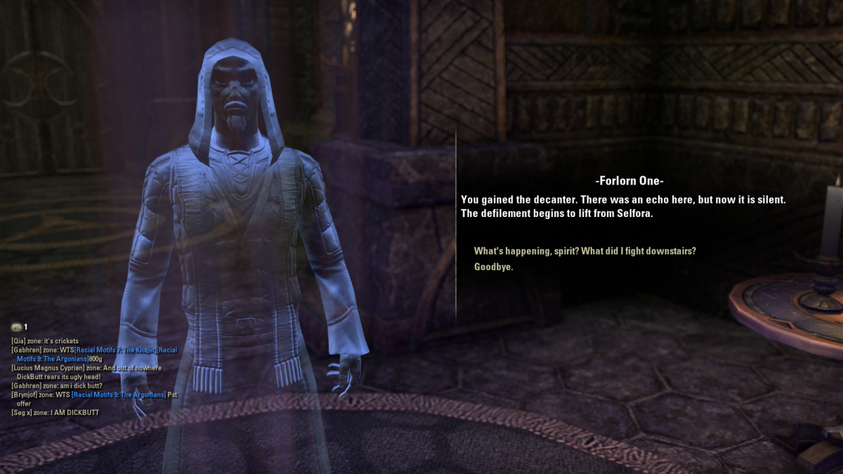 The Elder Scrolls Online Walkthrough - Selfora: Restless Spirits, Rescue and Revenge