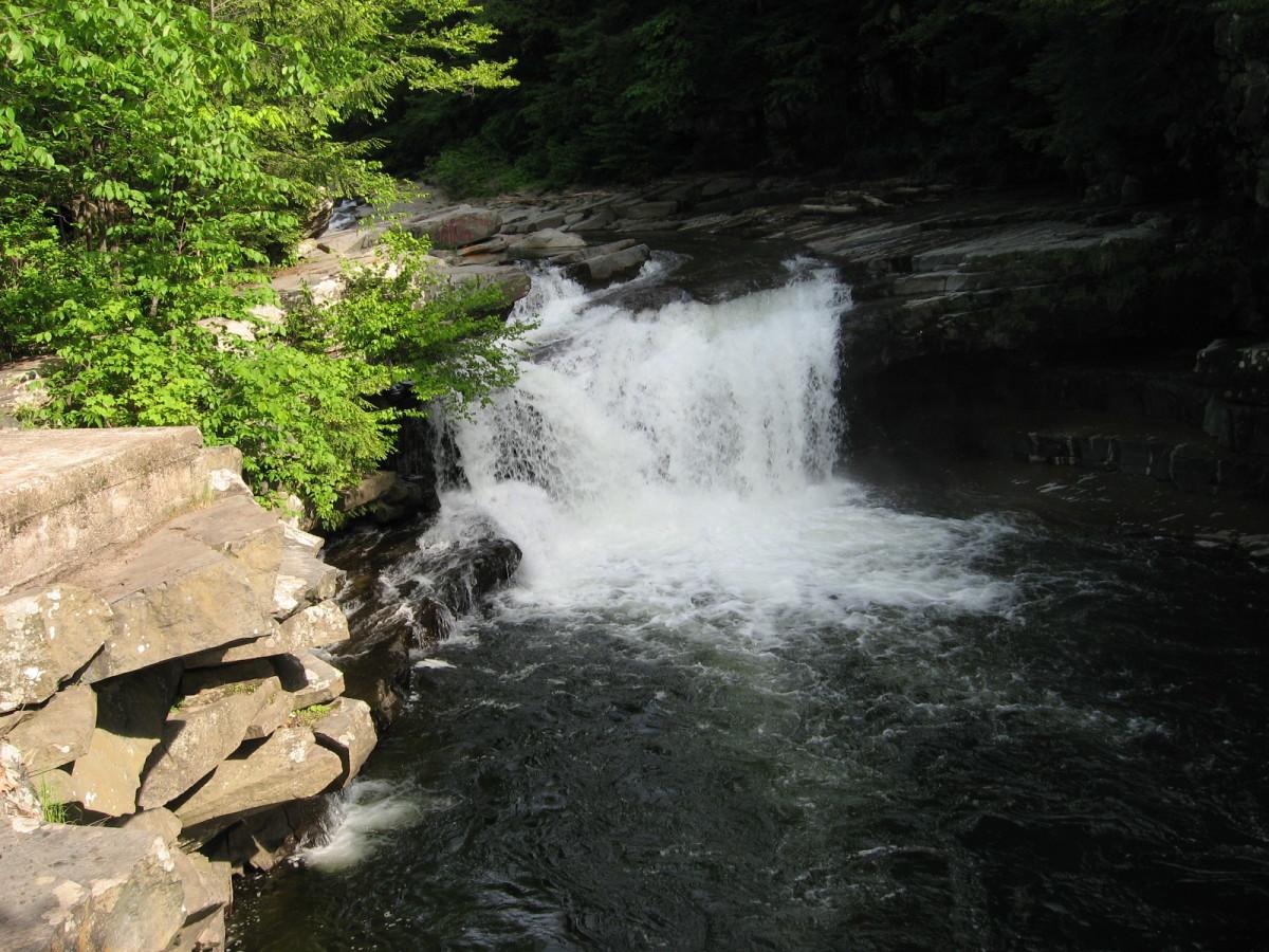 Roadside Waterfall in Bristol, VT