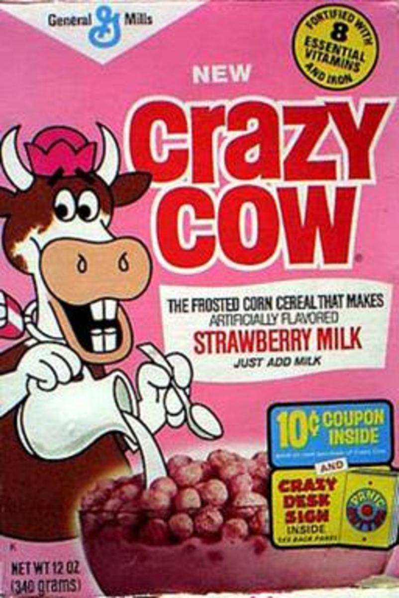 Breakfast Cereal Favorites of the 1950s, 1960s and 1970s