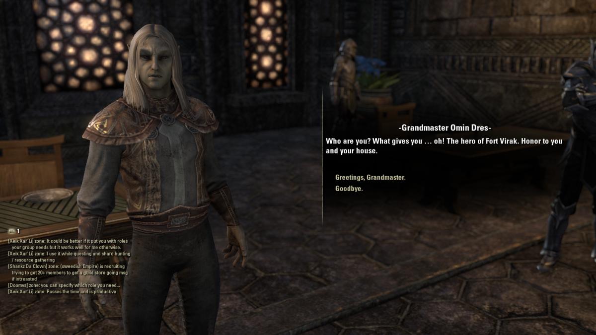 The Elder Scrolls Online Walkthrough - Kragenmoor: Aggressive Negotiations