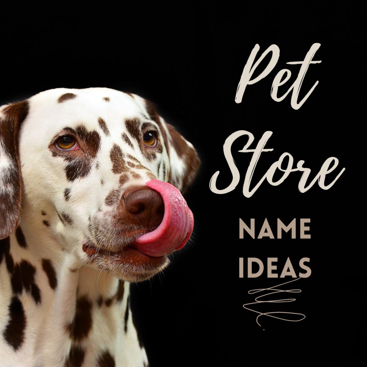 50 Pet Store Names