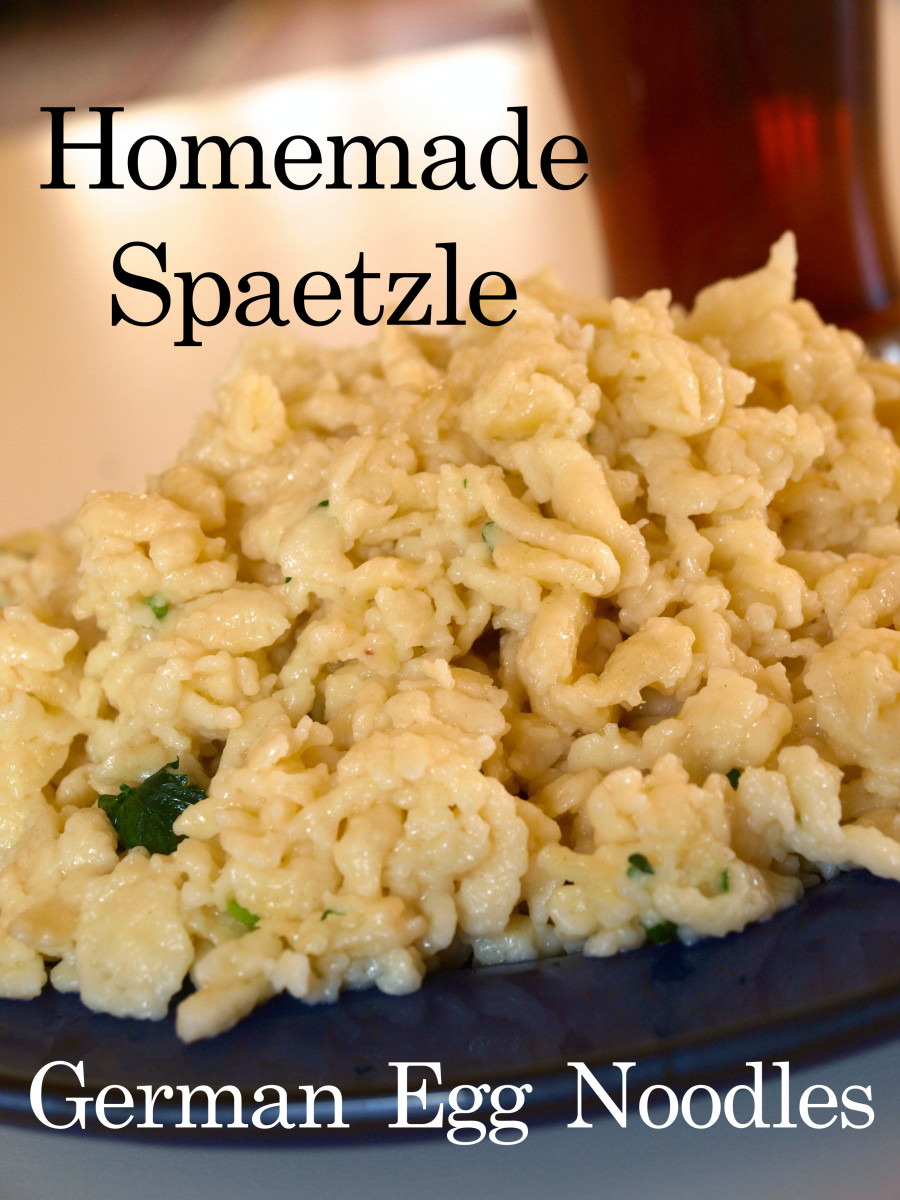 Learn how to make homemade spaetzle (German egg noodles) with this recipe and photo tutorial.