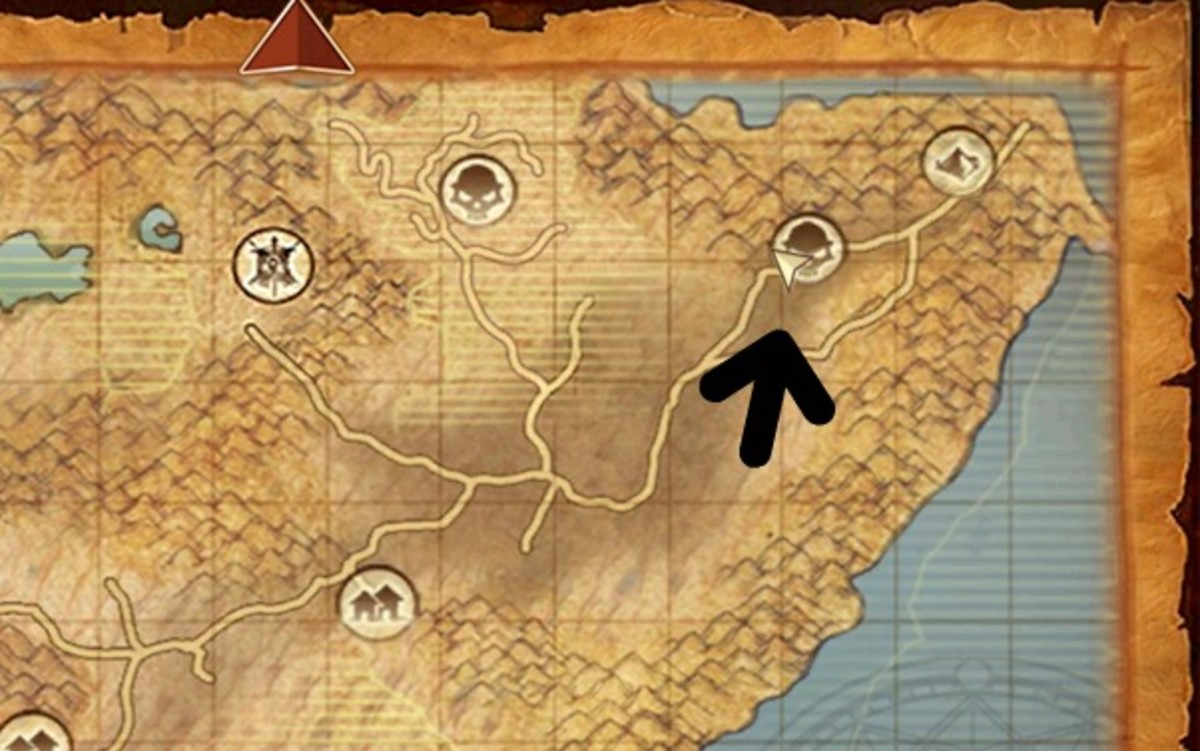 The Great Desert Mount Locations