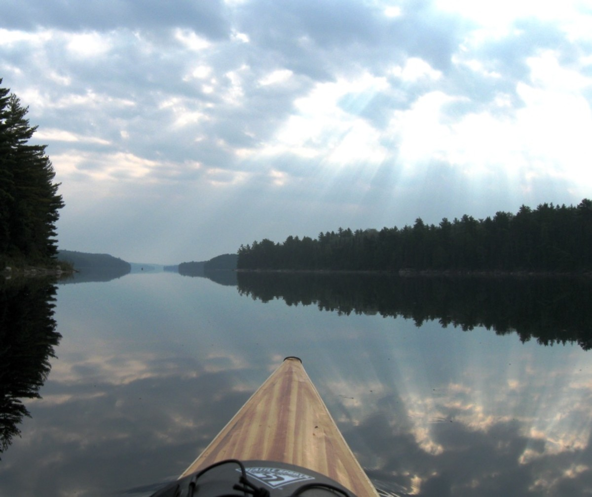 Building a Cedar Strip Kayak: The Details: Stems and Sheer Clamp