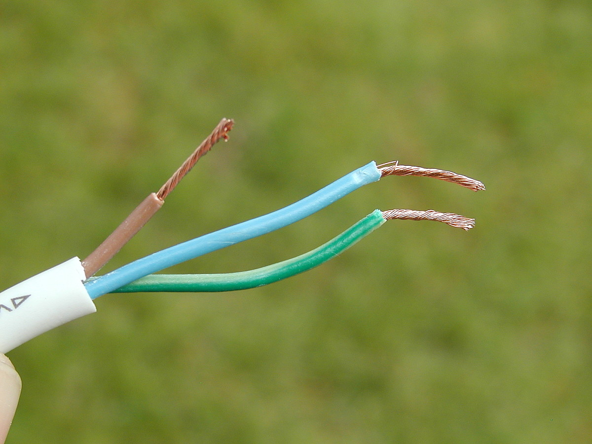 Twist the stranded copper wire