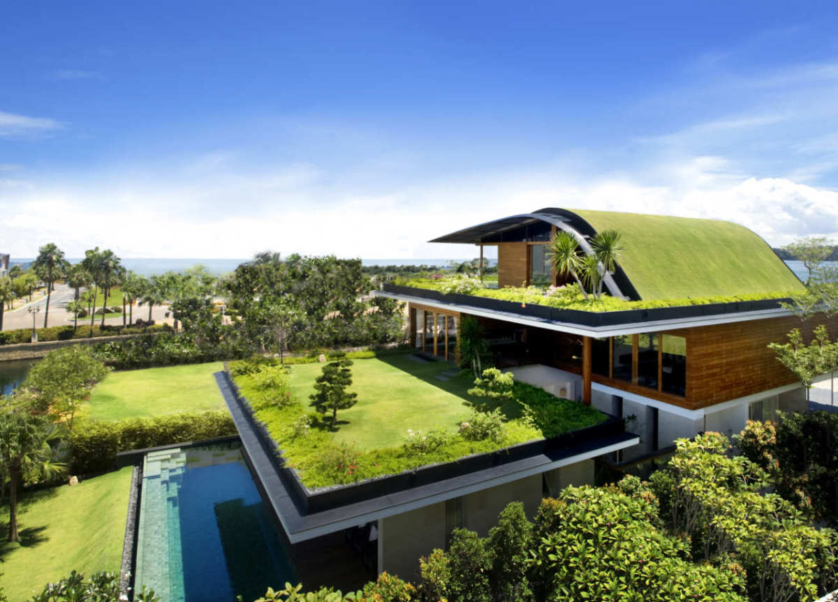 Environmentally friendly houses top eco homes in the for Earth friendly house plans