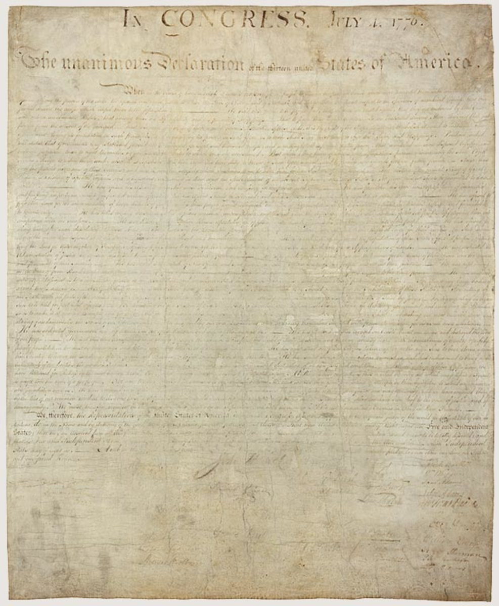 "an analysis of declaration of independence In the final analysis failure to transmit the proper myths and symbols will  on the  one hand, the declaration of independence is ""that immortal."