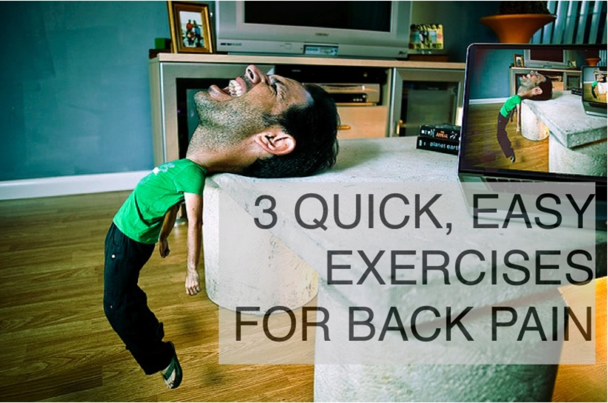 Back Exercises With Photos for Instant Lower Back Pain Relief
