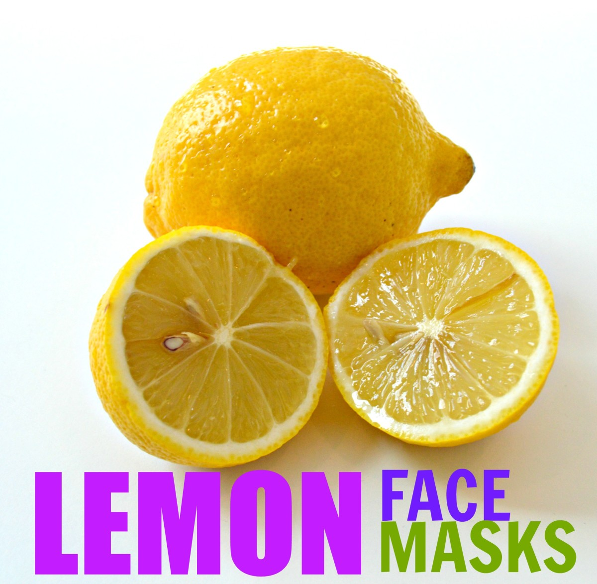 Top Three Lemon Face-Mask Recipes for Fresh and Bright Skin