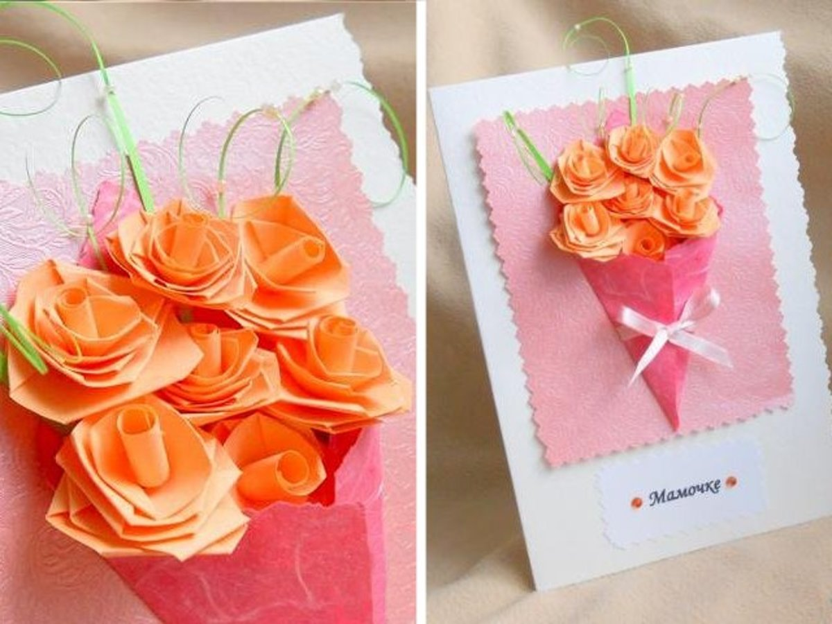 Motherâs Day Bouquet Card