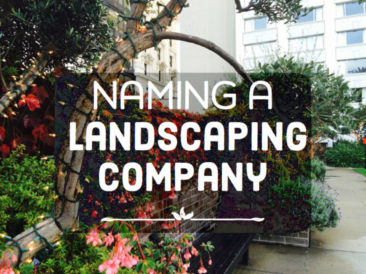 50 landscaping company names hubpages for Landscaping companies