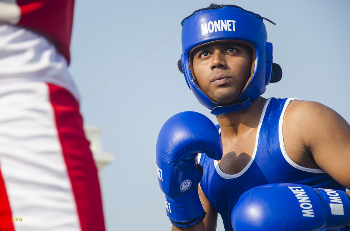 Boxing is a prime example of a sport where a degree of aggression can lead to success