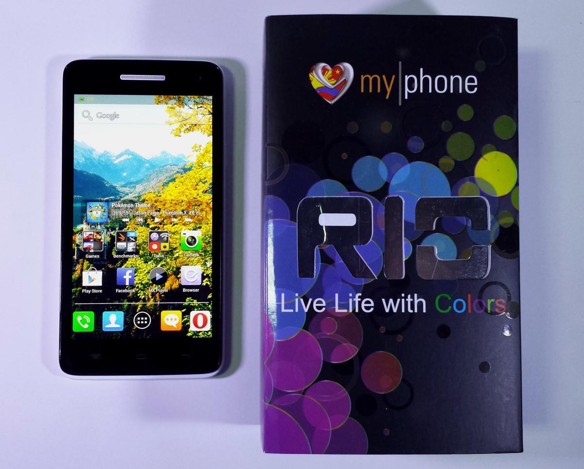 MyPhone Agua Rio Review