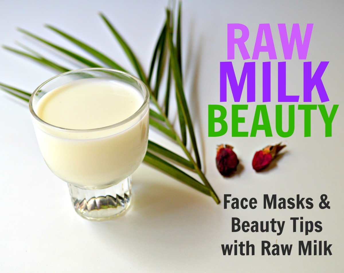 Discover beauty secrets and face mask recipes that use raw milk, an ancient beauty wonder.