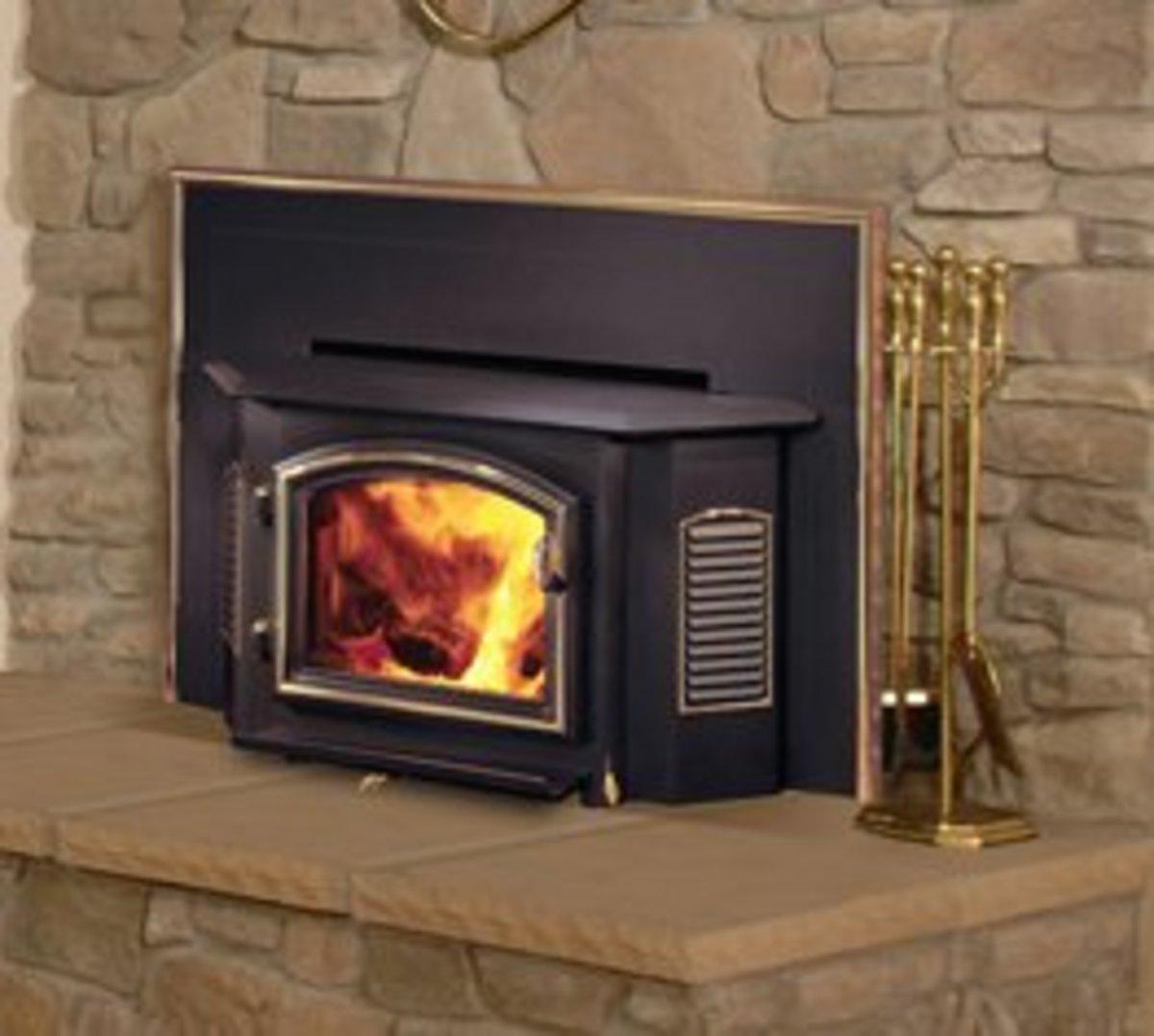 A Regency Wood Burning Fireplace Insert
