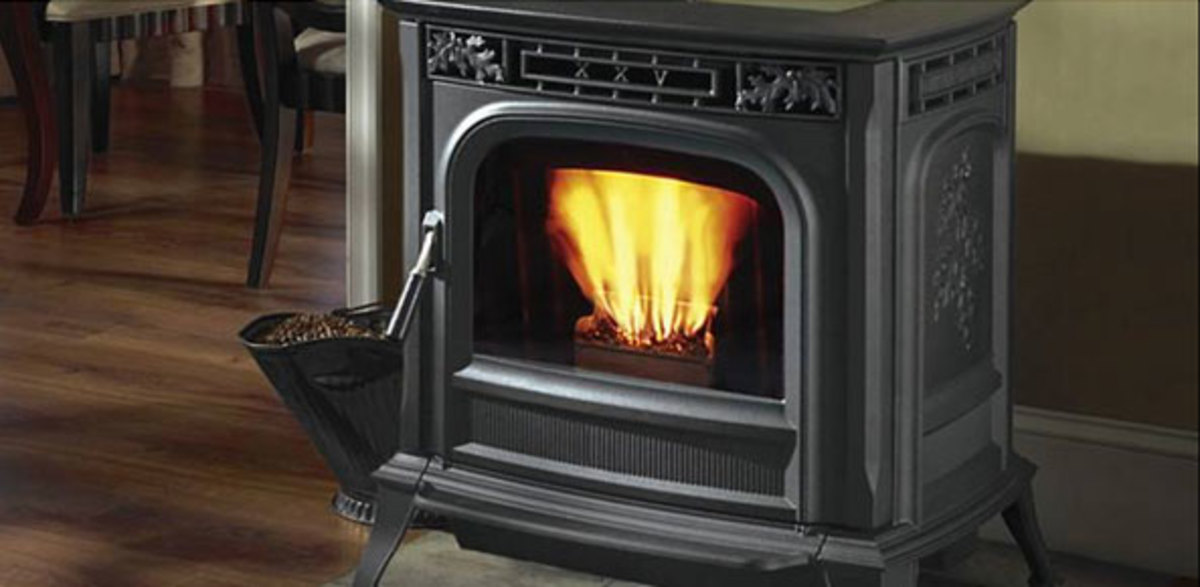 This article discusses various information on wood stoves, pellet stoves and fireplace inserts.