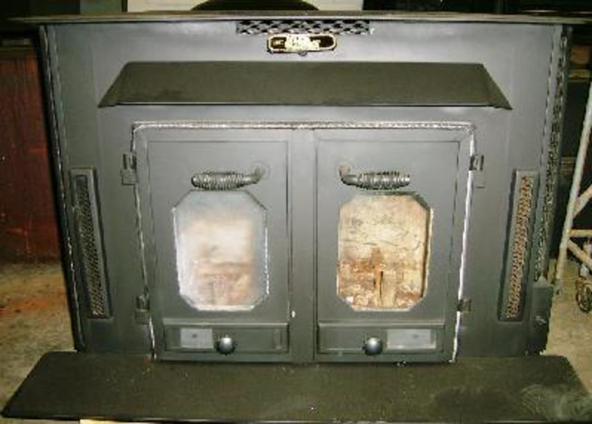 Circa 1970s Buck Stove: they burn dirty as hell, but so popular and well-made there are still thousands in circulation today.