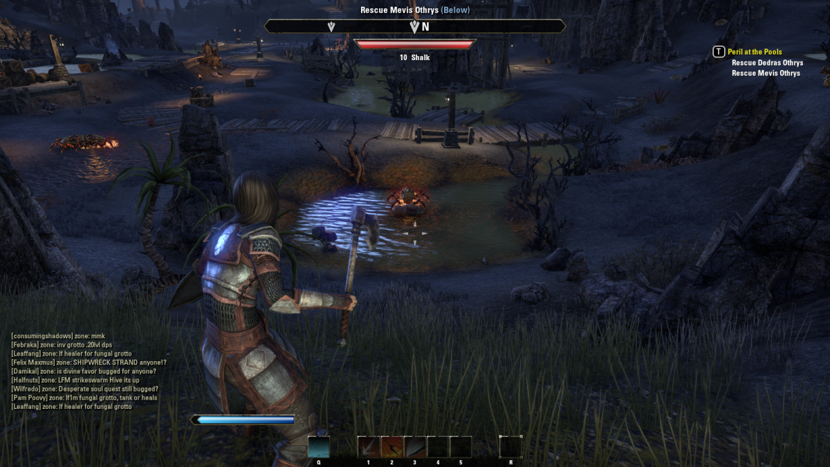 The Elder Scrolls Online Walkthrough - Heimlyn Keep: Peril at the Pools, Recovering the Guar