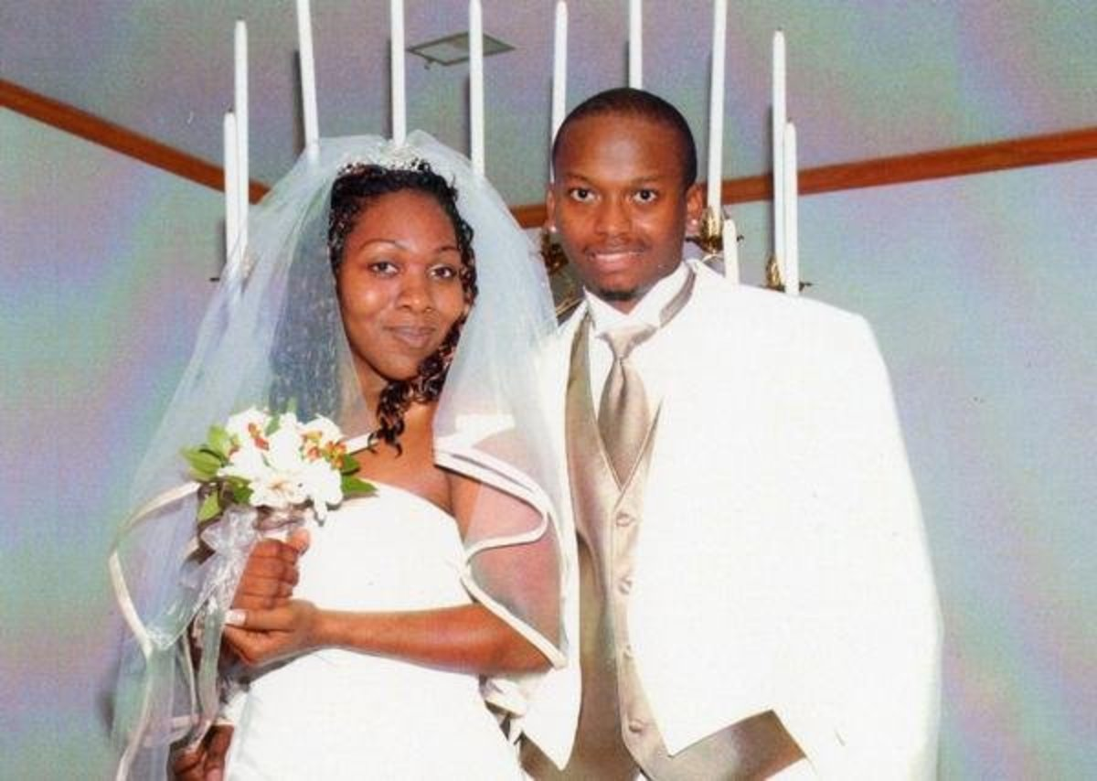 My husband and me, Oct 25, 2008