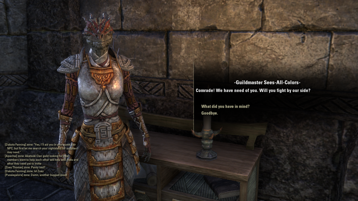 The Elder Scrolls Online Walkthrough - Fighters Guild: Anchors from the Harbour