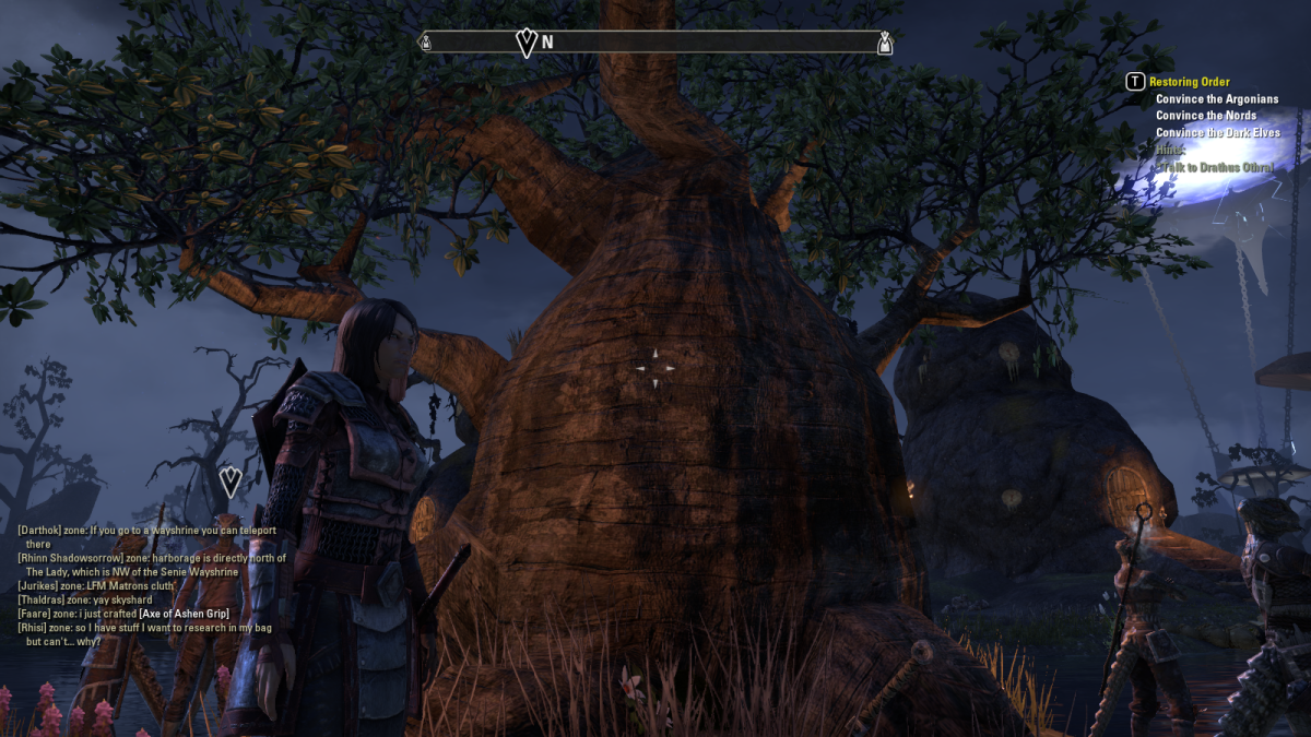 The Elder Scrolls Online Walkthrough - Ebonheart: Restoring Order
