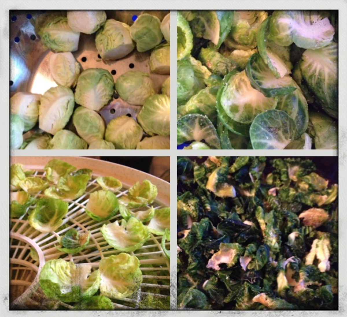 How to Make Vegan Raw Brussels Sprout Chips