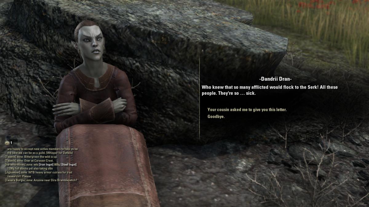 The Elder Scrolls Online Walkthrough - Quarantine Serk: Bad Medicine