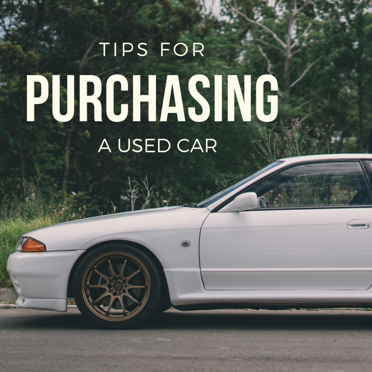 Tips for purchasing a car.