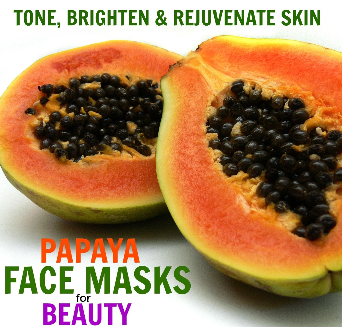 What are the best papaya face masks to use on skin for rejuvenating and skin brightening qualities?