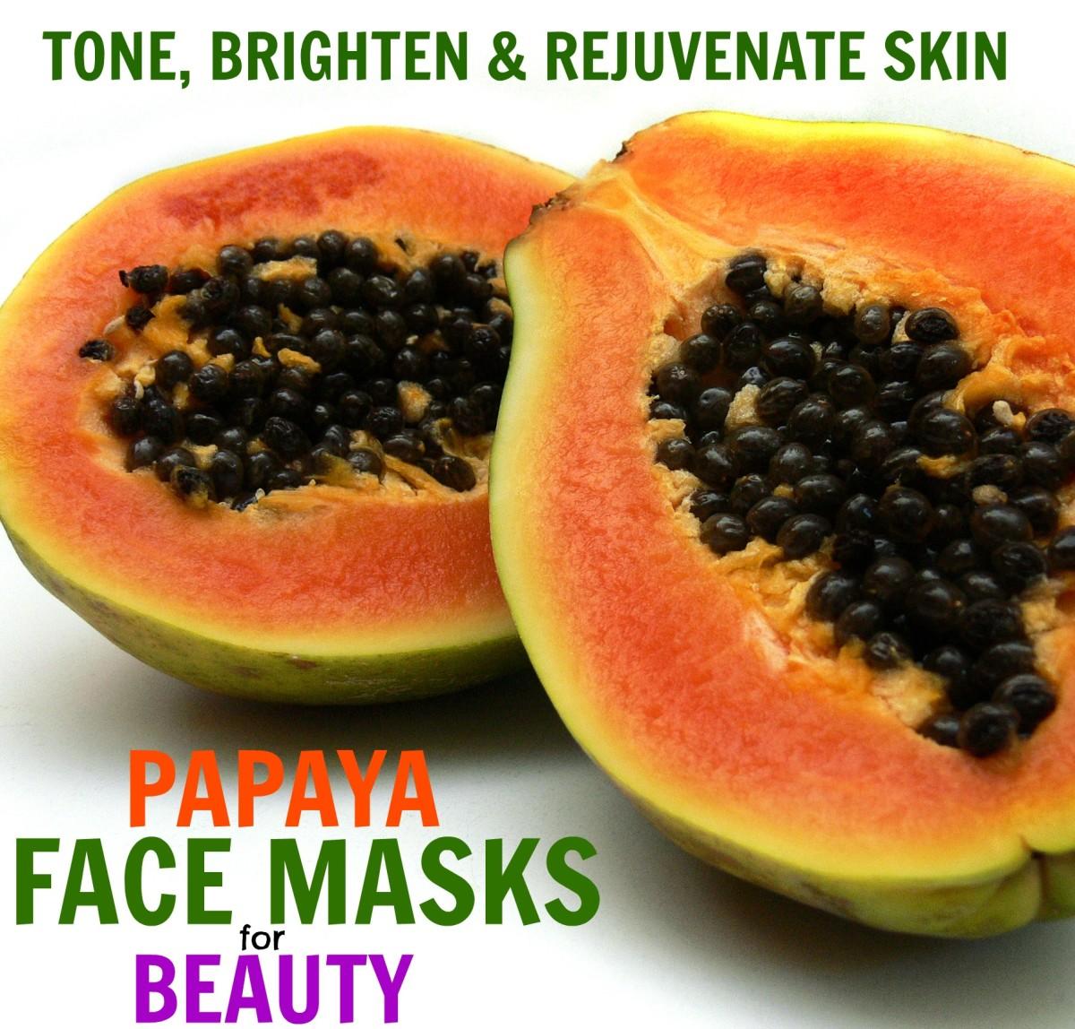 Skin-Lightening Papaya Face-Mask Recipes for Bright, Glowing Skin
