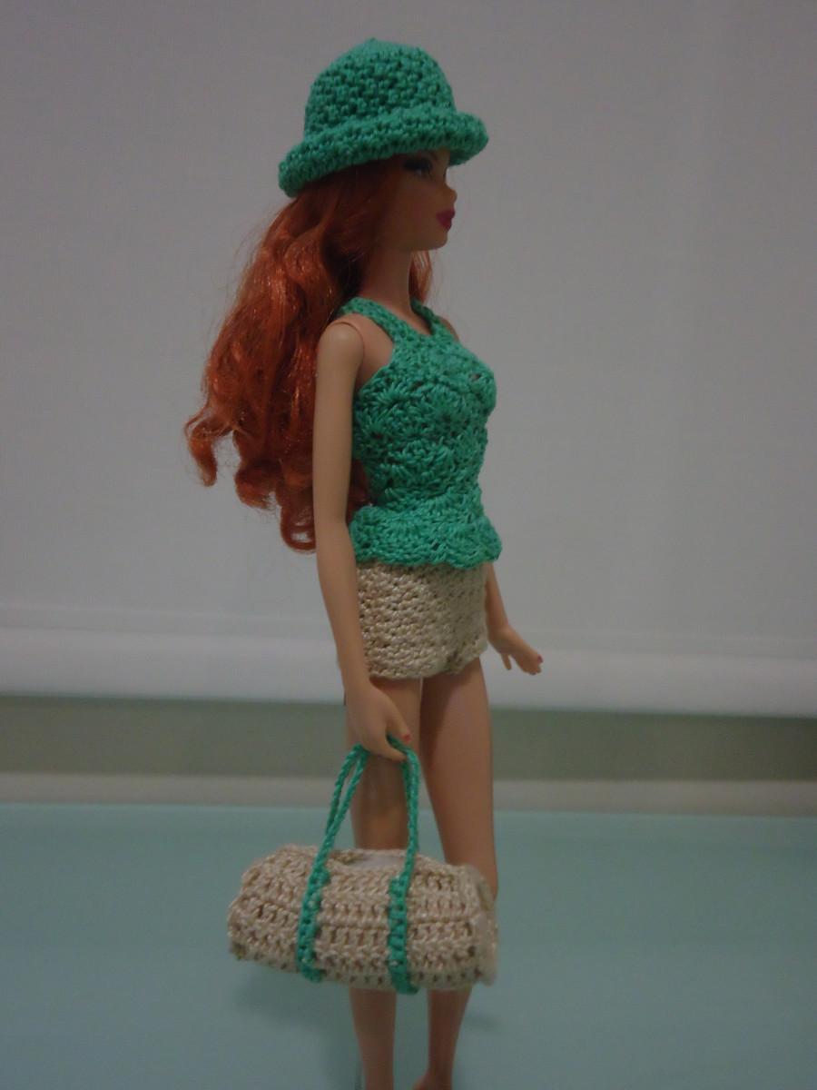 Barbie Duffel Bag