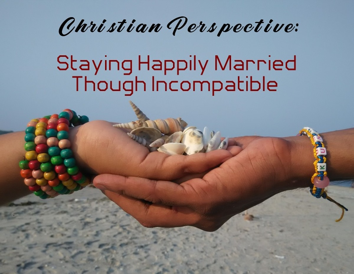 Christian Perspective: Staying Happily Married Though Incompatible