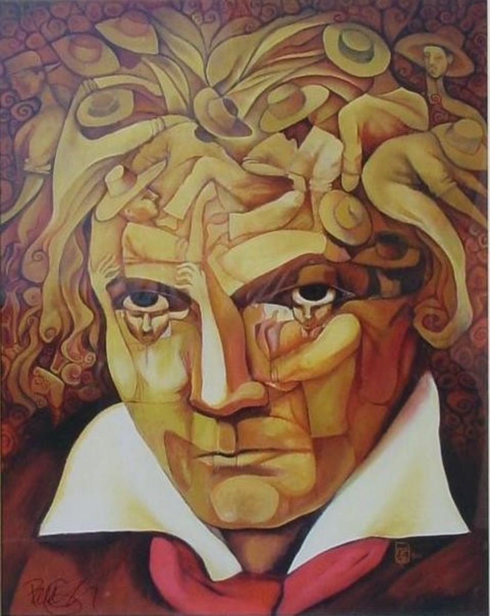 Ludwig Van Beethoven began to experience hearing loss in 1798.  In spite of his deafness he started producing volumes of music.