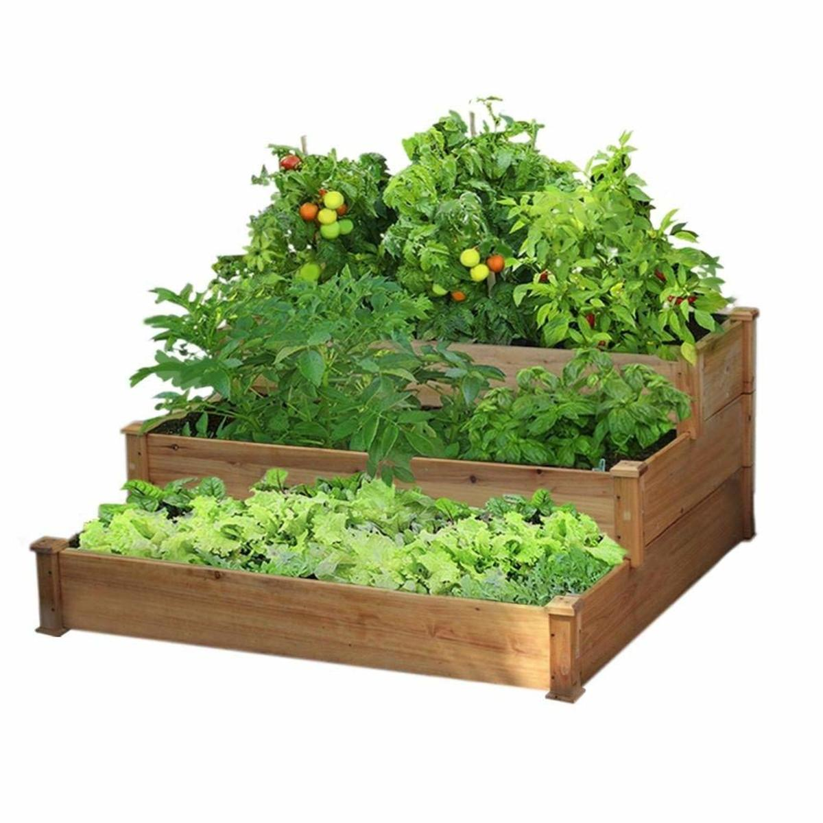 How To Build A Raised Garden Bed Cheap Prefab Kits Diy Plans Dengarden Home And Garden