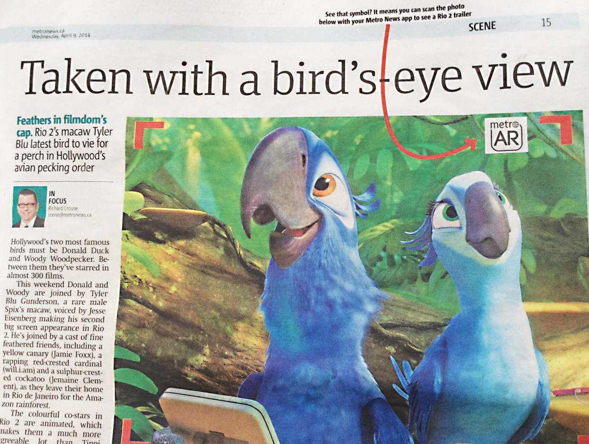 Augmented Reality in Newspapers - Technology and Uses