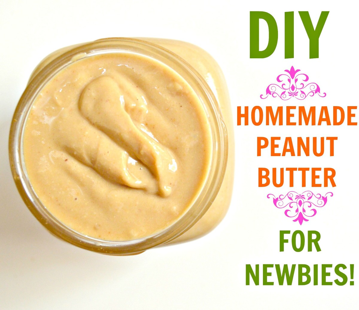 Never made peanut butter at home before? Here's an easy guide!