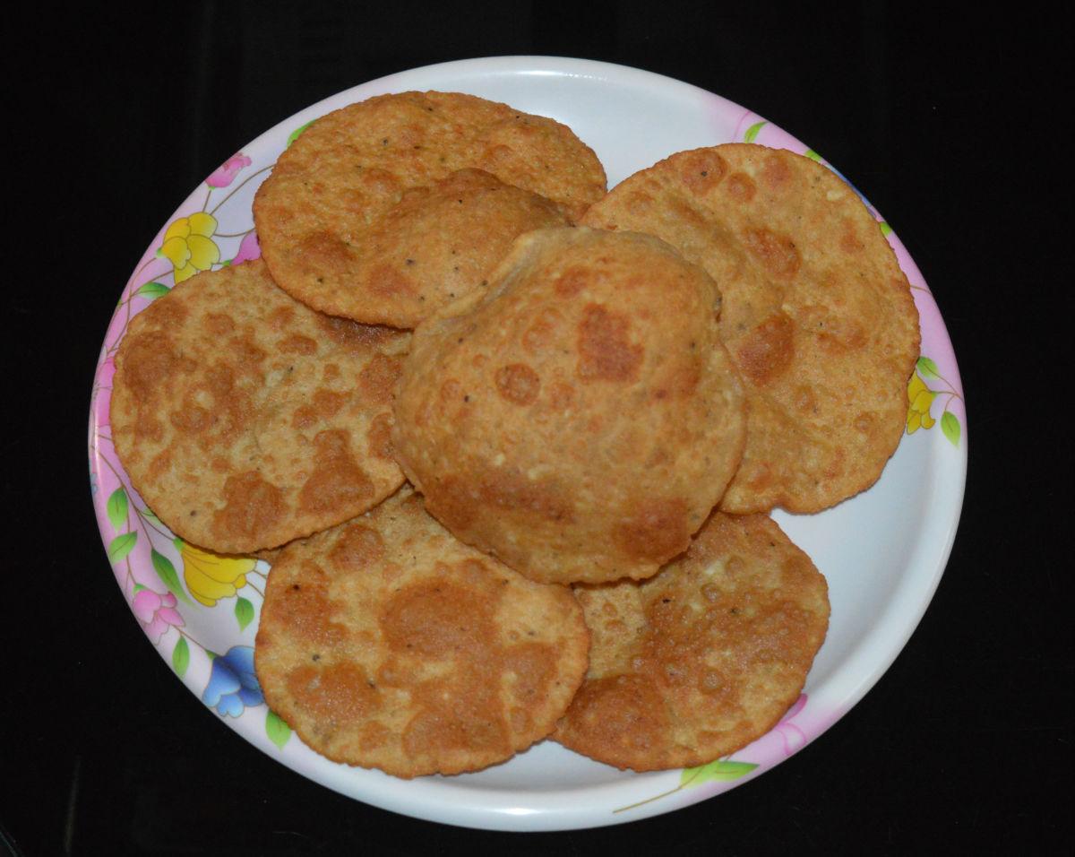 How to Make Bedmi Poori (Urad Dal Poori)