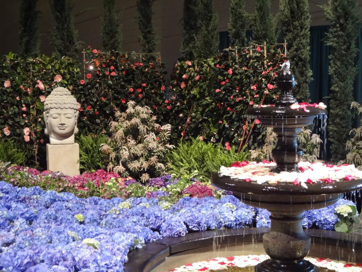 Tranquil garden from Chicago Flower and Garden Show 2014