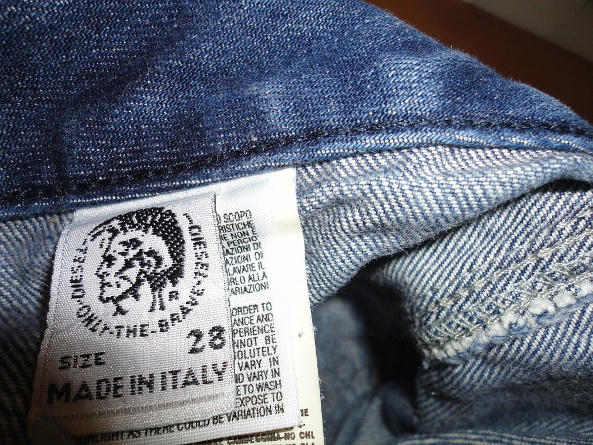 Women's Designer Brand Jeans Are a Common Target For Counterfeiters.