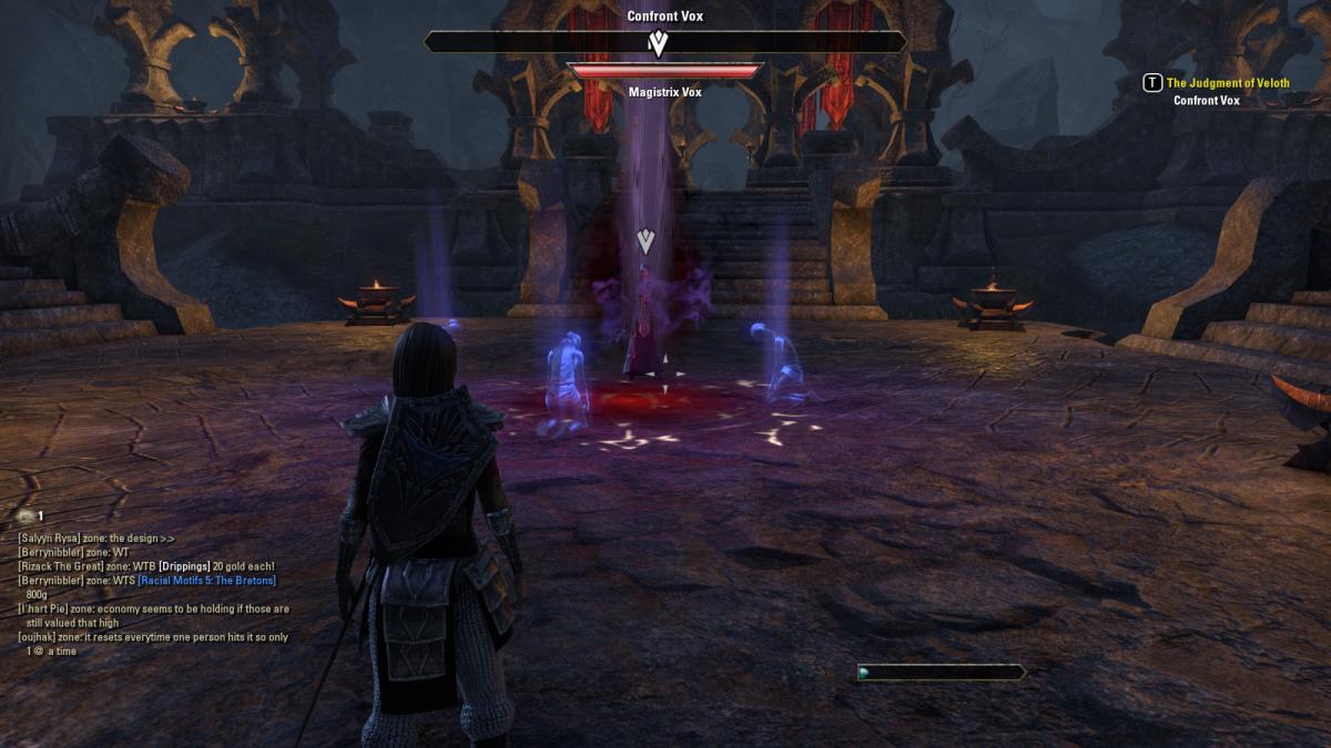 The Elder Scrolls Online Walkthrough - Eidolon's Hollow: The Judgment of Veloth
