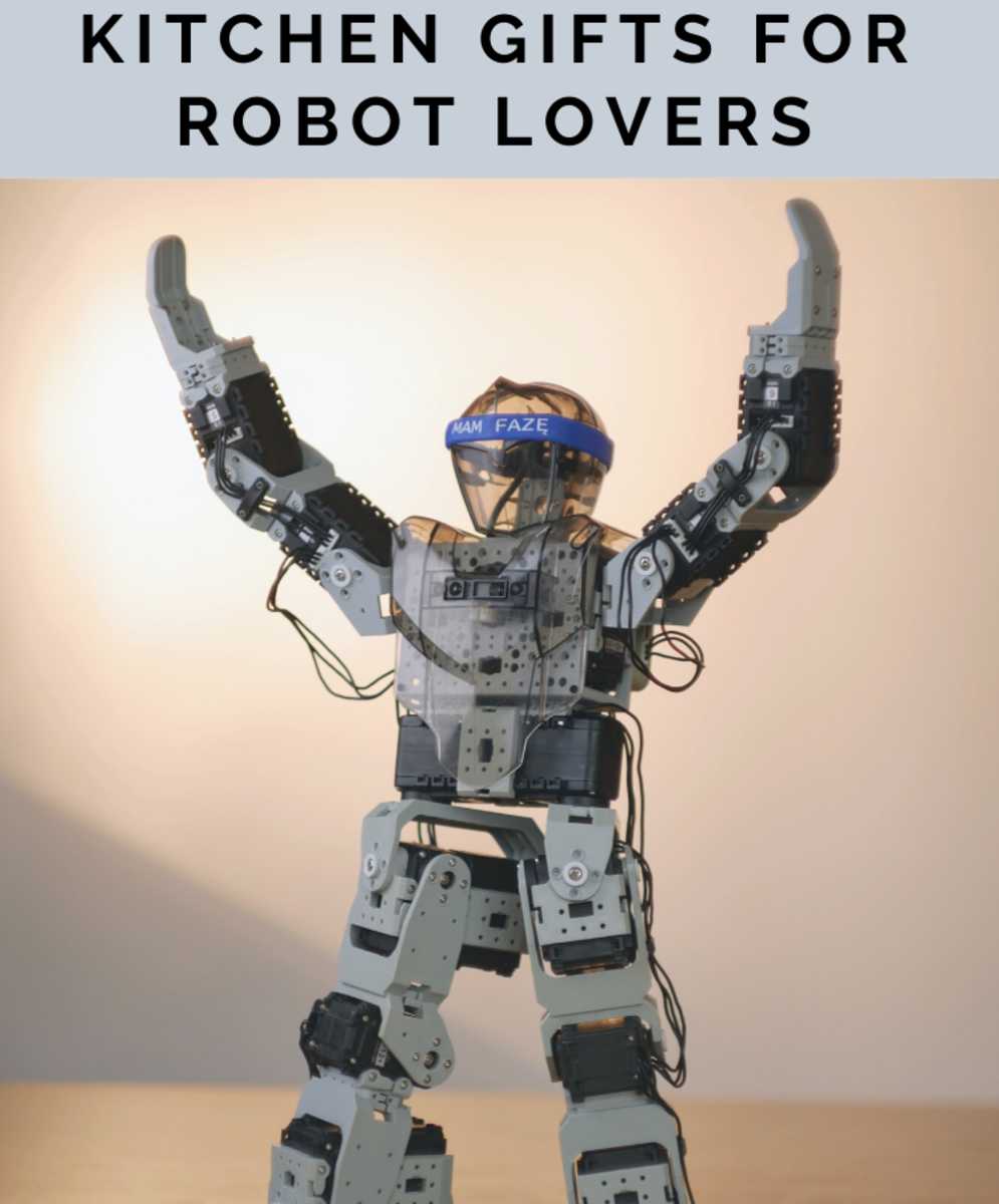 Are you a robot lover and a great chef? Here are some great kitchen gifts for robot lovers!
