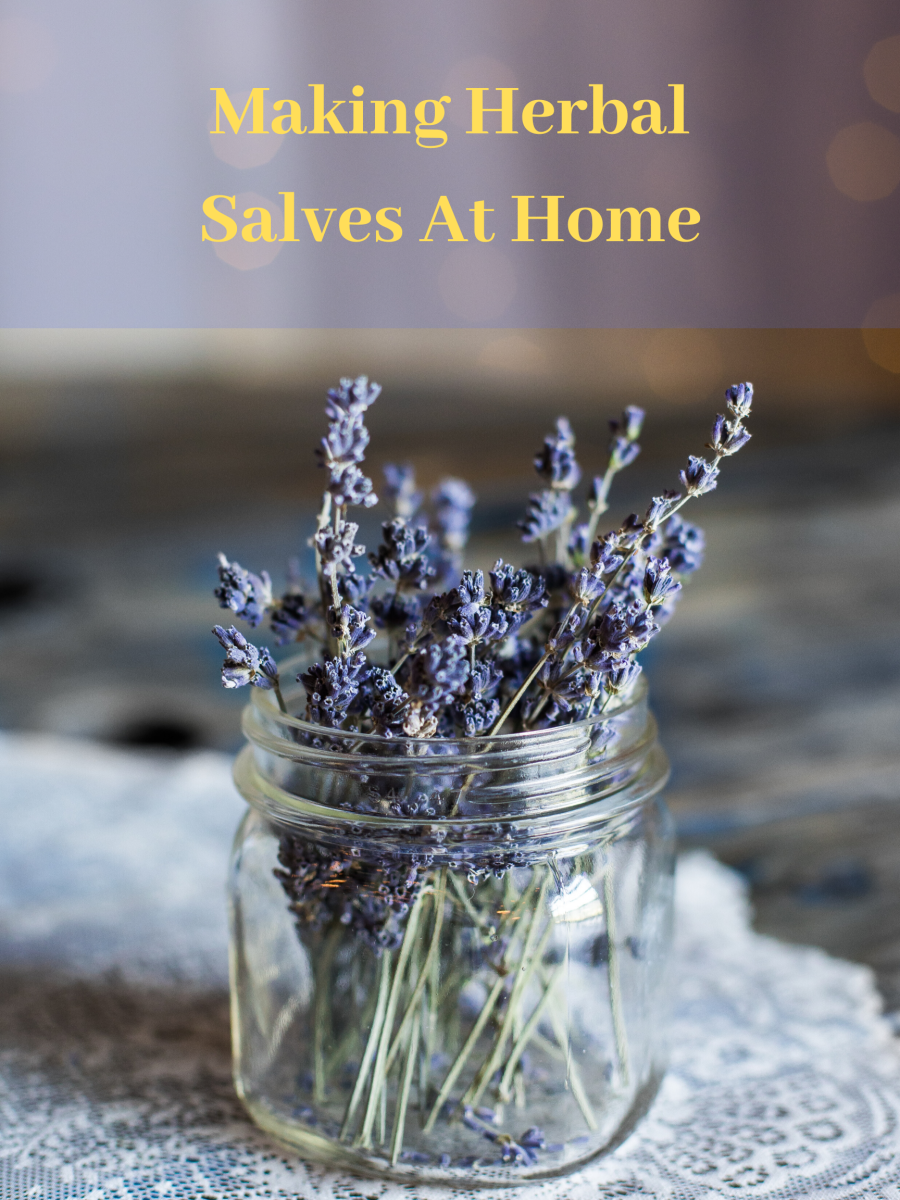 Making salves at home doesn't have to be hard.