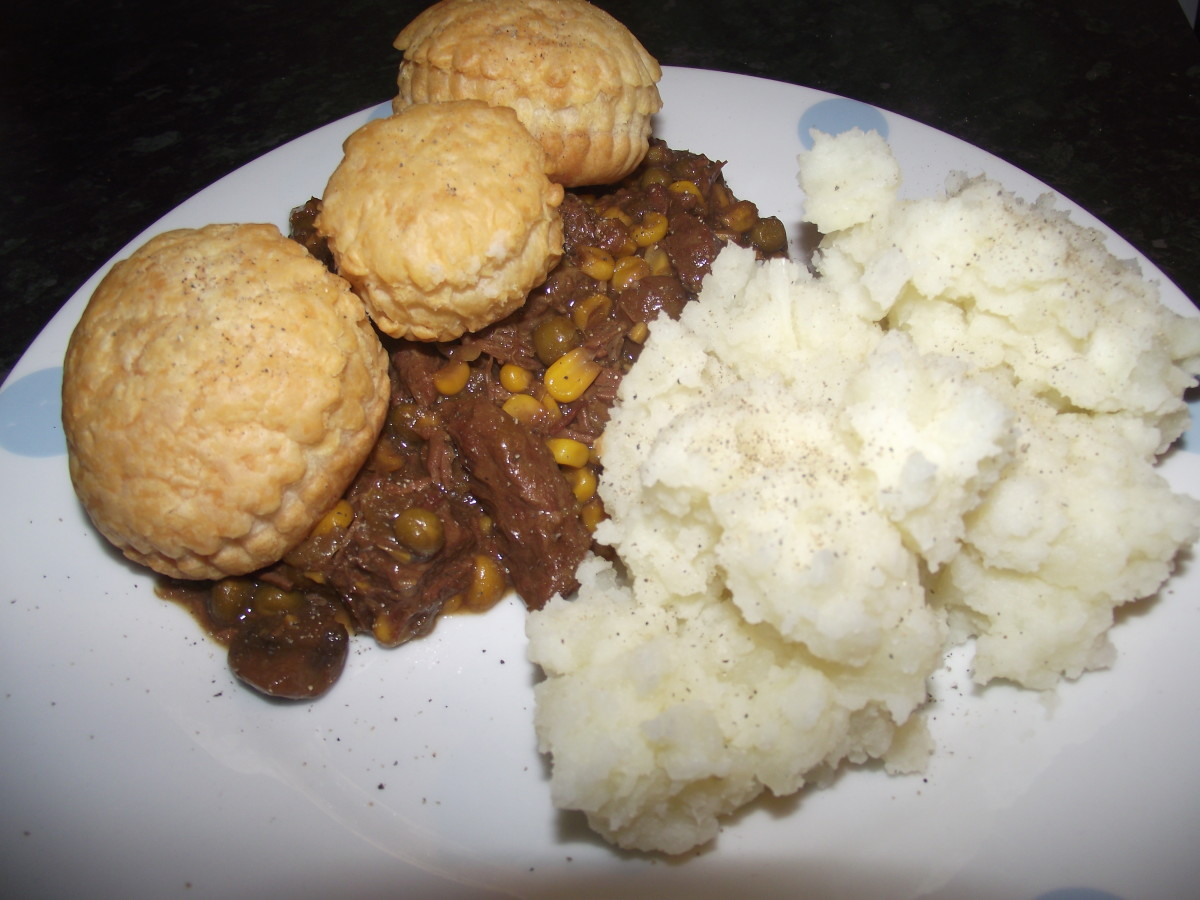 Easy Slow Cooker Steak Pie Recipe