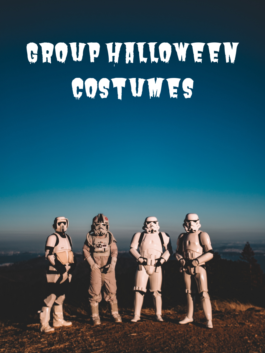 Star Wars is just one of many wonderful themed costumes.