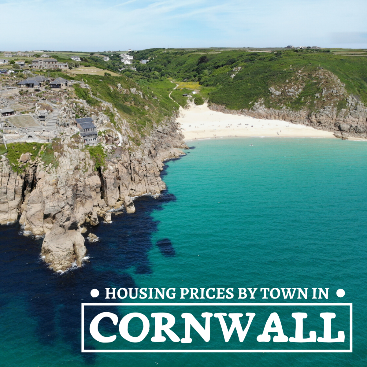 The quaint villages and picturesque towns that dot the rolling hills and seaside cliffs of Cornwall are enticing to many prospective home buyers.