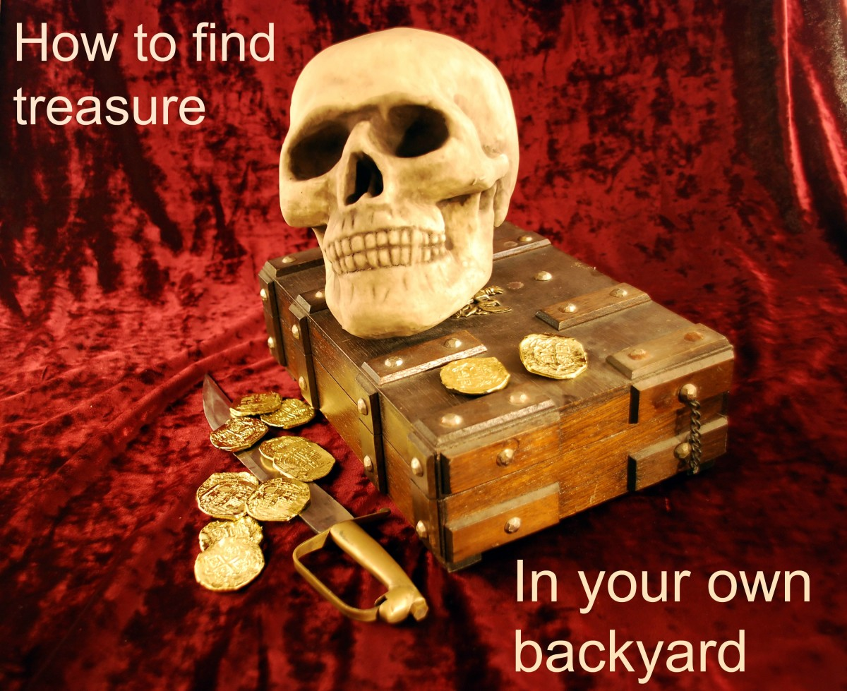 finding treasure in your own backyard